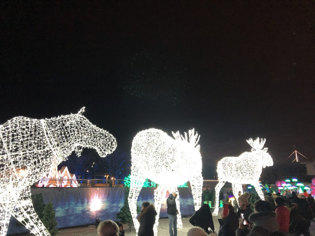 Giant Animal Light Statues